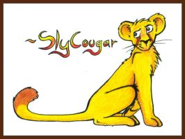 SlyCougar by sparkycom