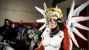 Mercy: Glasses by DarknessRingoGallery