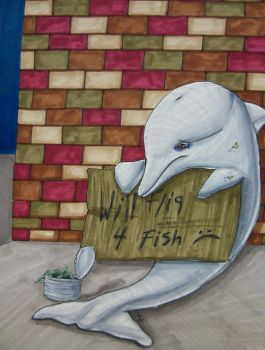 The Plight Of Marine Mammals by les-ailes