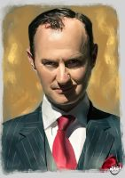 Mark Gatiss by Paganflow