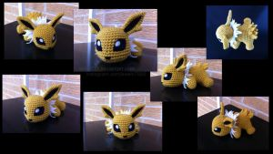 Baby Jolteon (with pattern)