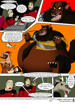 Fatty dreams: One letter off from Wolf by NightCrestComics
