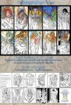 Printable Coloring Book Pack 1: Fantasy Art Angels by AngelaSasser