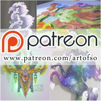 Patreon is a go! by StrayaObscura