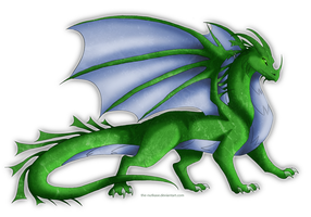 DQ Dragons: Honora by NutkaseCreates