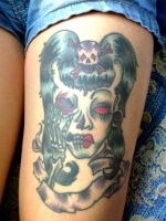 Mary's Tattoo by LuxBlack