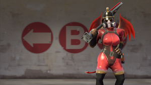 The Female Nazi Pyro by spay1100