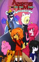 Adventure Time With F.P and Flambo by MarsAtzuko