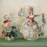French Pastry Chef Paper Doll by rhondasoriginals