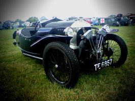 Morris 3 Wheeler by hentaimaster