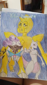 Diamond Authority: Yellow's Pokemon by MitsukiChan313