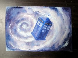 FALL OF THE TARDIS by Frederic-Mur