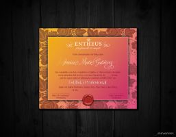 Diploma - Certificate by josmo