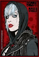 Brody Dalle - Hood by Grimgraphix