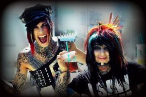 Dahvie And Jayy by RavenVonRiot