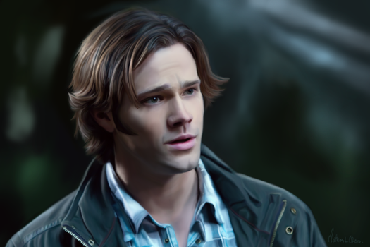 All alone - Sam Winchester by Lasse17