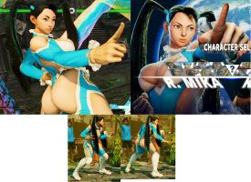 R. Mika with Black Hair by bbbSFXT