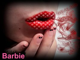 Minnie Mouse Franch by BarbieNailArt