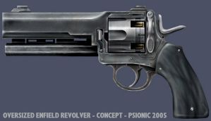 Pistol by psionic