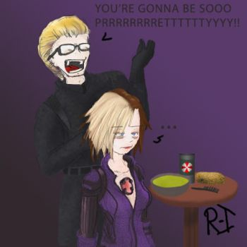 RE5 Cut scene Wesker and Jill by Rockman-Invincible