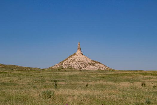 Chimney Rock by artisticimposter