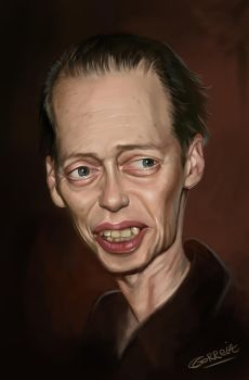 Steve Buscemi Caricature by NightshadeBerry
