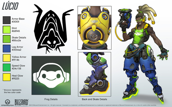Lucio - Overwatch - Close look at model by PlanK-69
