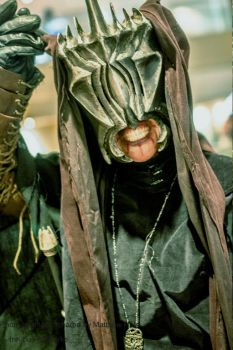Mouth of Sauron says hi from DragonCon 2015 by InKibus