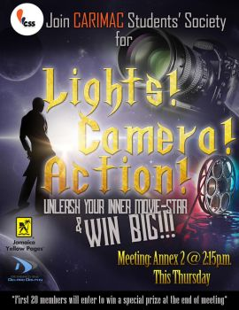 CSS - Lights Camera Action by D-Dolphy