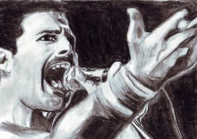 Freddy Mercury by ClairBlueArt