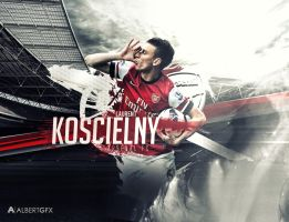 Laurent Koscielny (Arsenal FC) by AlbertGFX