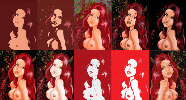 Style Comparisons by SexxiMomma