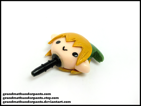 Link Phone Dust Plug by GrandmaThunderpants