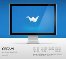 wallpaper 78 origami by zpecter