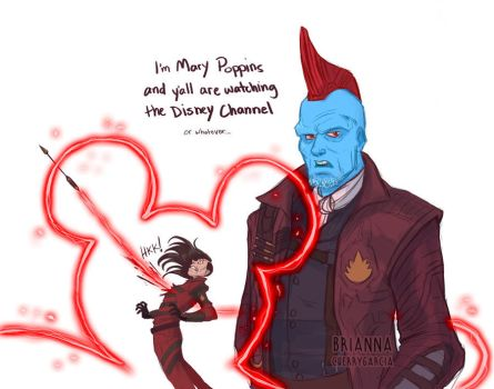 Yondu Poppins by briannacherrygarcia