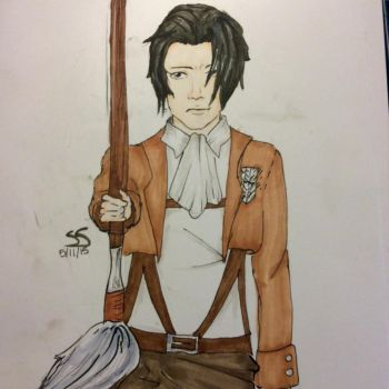 Captain Levi by fangirl015
