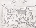 Homer and Eric 2011 by simpspin