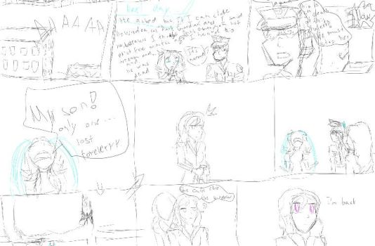 The meeting chapter 1/page 1/part 2 (sketch) by TwilightSpr