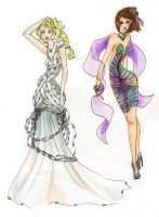 Two Dresses by Boarok