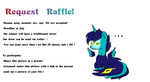 Request raffle OPEN! by hylidia