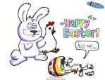 Happy Easter by Aniforce