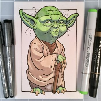 Marker Yoda by D-MAC