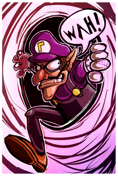 It's Waluigi time by calistamonkey