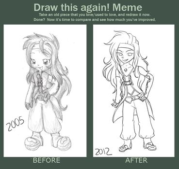 Before and after - Meme by HaraRester