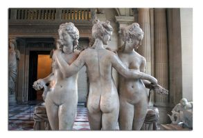 The Three Graces 5 by unclejuice