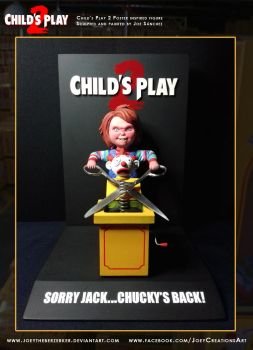 Child's Play 2 Poster replica 5 by joeytheberzerker