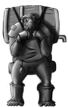 Noggle the Bugbear Merchant by Terry-Mosier
