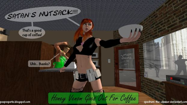 Honey Goes For Coffee by NAMhere
