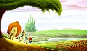 Wizard of OZ - Emerald City by marchine