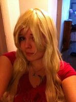 New Wig for my New OC Cosplay by SakuraRoseUley